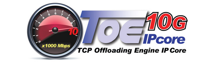 [TOE10G-IP] 10GbE TCP/IP Stack Implementation By All HW Logic without CPU